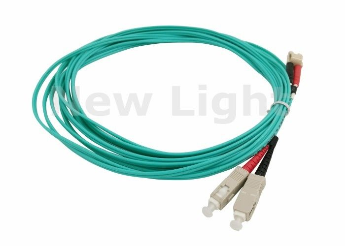 3Meters 2.0mm Multimode 50//125 Duplex LC PC to FC PC Optical Fiber Patch Cord
