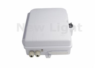 Cina Withe Color Fiber Optic Termination Box SC 48 Port Wall Box Untuk Kawasan Lokal Distributor