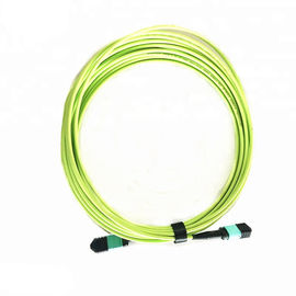 OM5 - 600 MPO Fiber Optic Patch Cord Multi Mode Dengan Konektor Perempuan